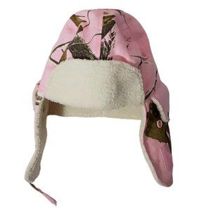 Realtree Hunting Pink Camo Trapper Hat Cap Women's